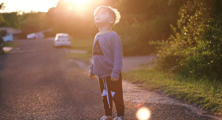 Sunset Autistic kids fashion Mon blog blogger autism Pinterest diy mommy parenting special needs autistic asd Disney Baby clothes toddler style ootd