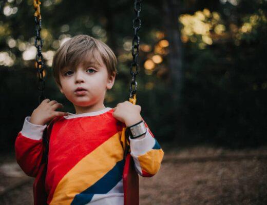 Autistic toddler