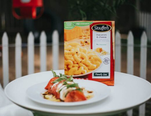 stouffers, recipe, macncheese, caprese sala, busy mom autism awareness autism day april proloquo aac ipad app communication special need blog mommy blogger mum parenting pinterest autistic toddler baby
