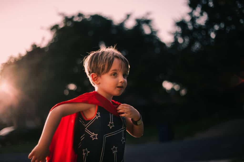 cape costume dressup autism