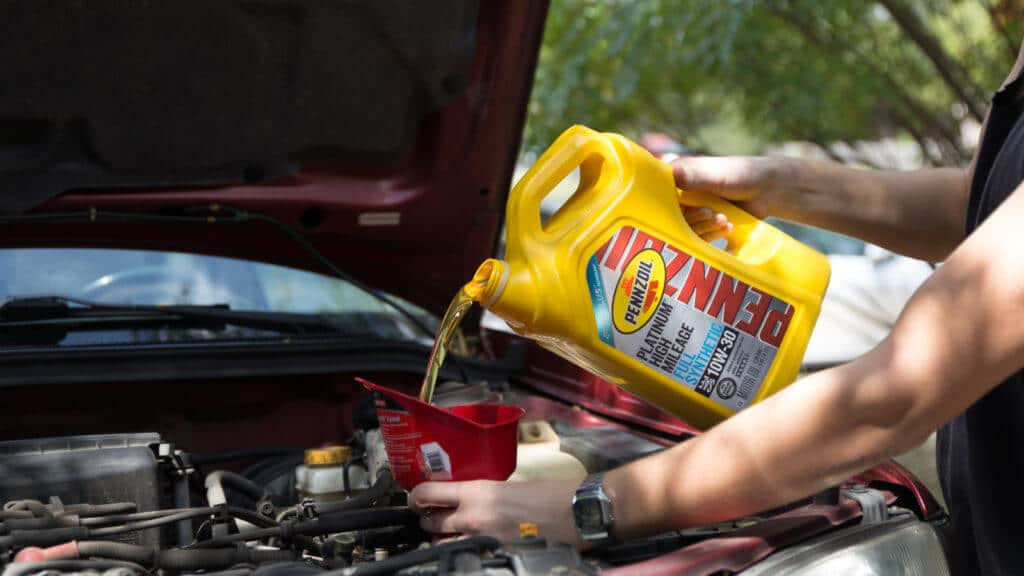 how to do an oil change at home