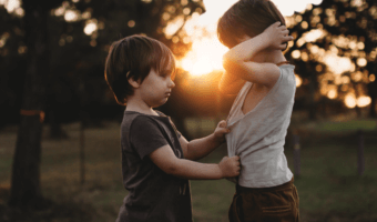 Autism and siblings: a bittersweet moment captured