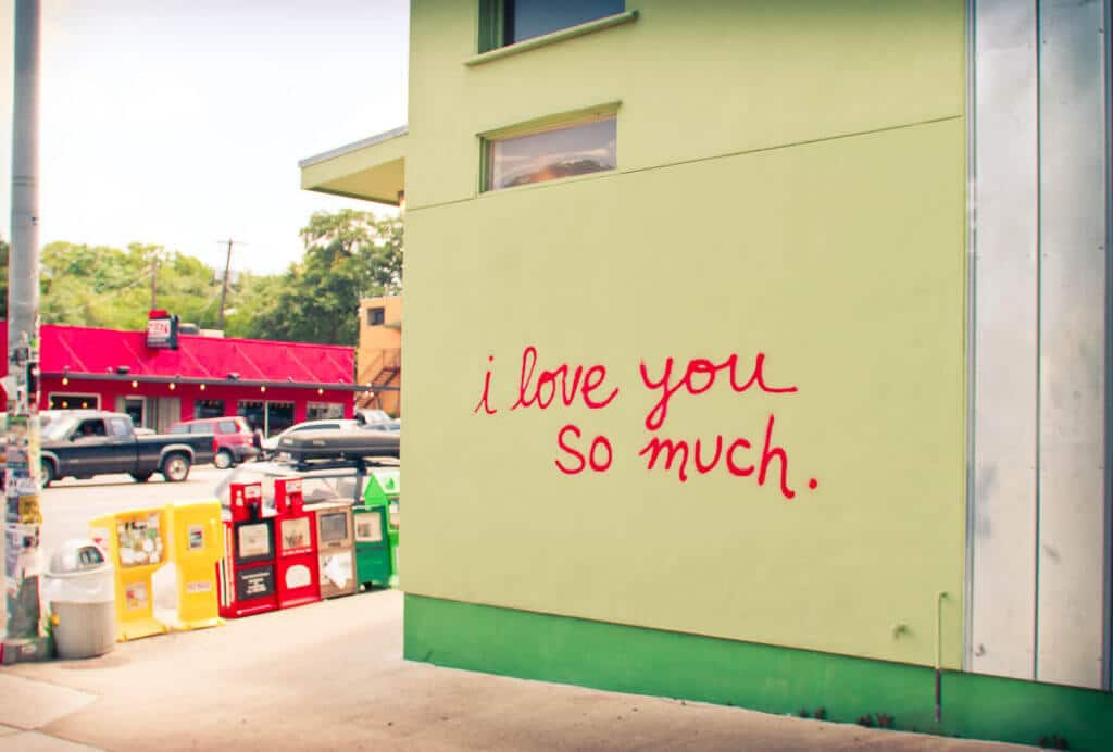 I love you so much austin texas wall autim mom blogger