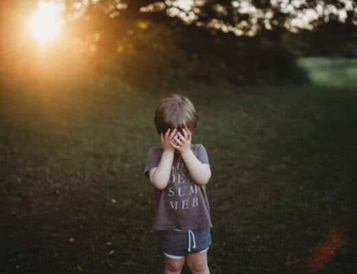 autism mom blog golden hour photography