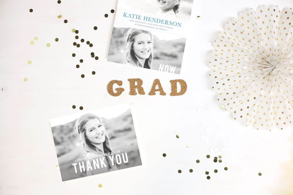 Where to get graduation invitations and thank you cards? - The ...