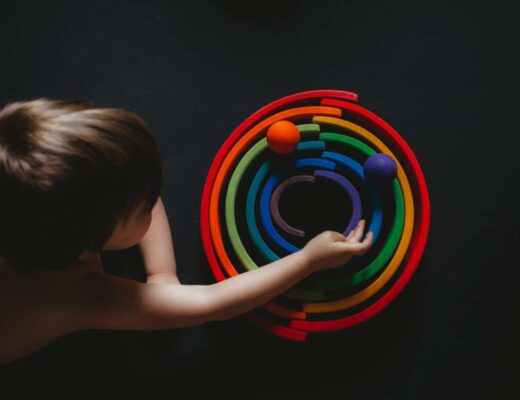 Grimm's wooden toys mom blog autism austin tx theautismcafe