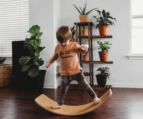 wobbel board autism mom blog boho house