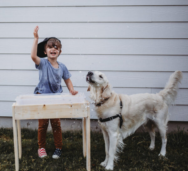 wooden table diy tutorial summer fun autism mom blog