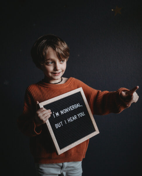 He's nonverbal but he hears you autism mom blog